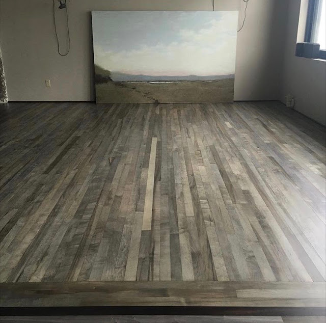 From Gardners 2 Bergers Diy Driftwood Gray Maple Hardwoods