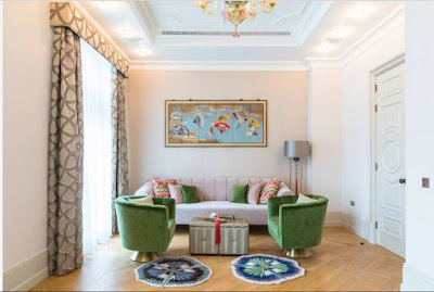 hall and Living room curtain design ideas and trends 2019, classic curtains