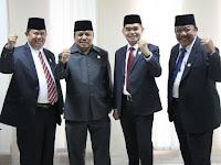 Empat Pimpinan Kerap Pergi Bersama Tinggalkan DPRD Medan...Lho Kok Bisa ?