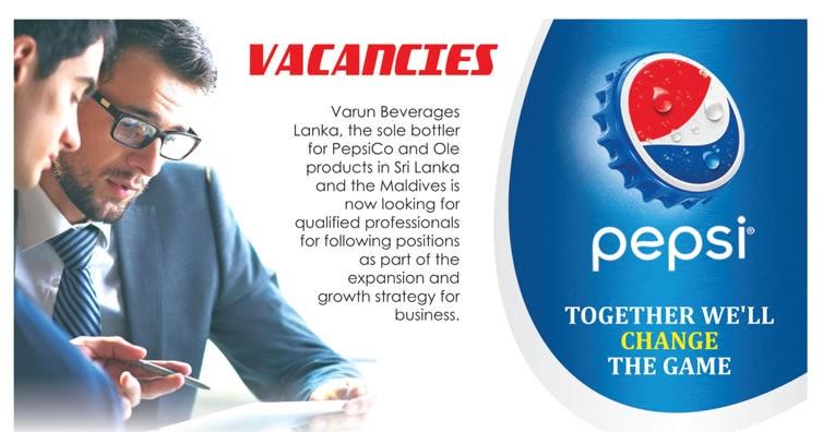 Vacancies at Varun Beverages Ltd