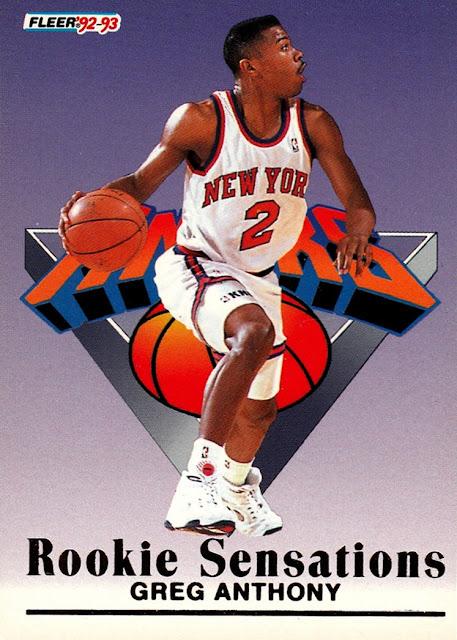 Cardboard History NBA 20th Anniversary Countdown 11 1992 93 Fleer