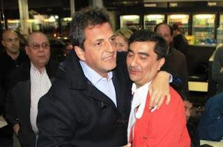 Aliados. Ibarra está con Sergio Massa y el lunes aseguró que no formará parte de un frente en el que esté el PRO. En el Gen, por ejemplo, ven ahora posible entablar con el ibarrismo la eventual sociedad entre el tigrense y Stolbizer.