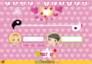 لعبة مقياس الحب الحقيقى Game