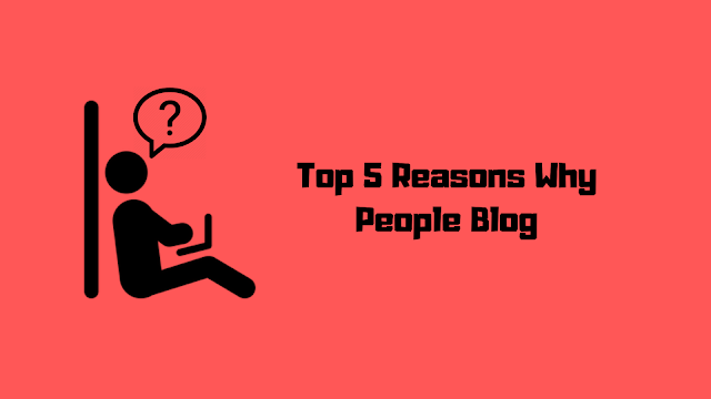 It's All About Why People Blog