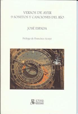 Versos de Ayer, José Espada