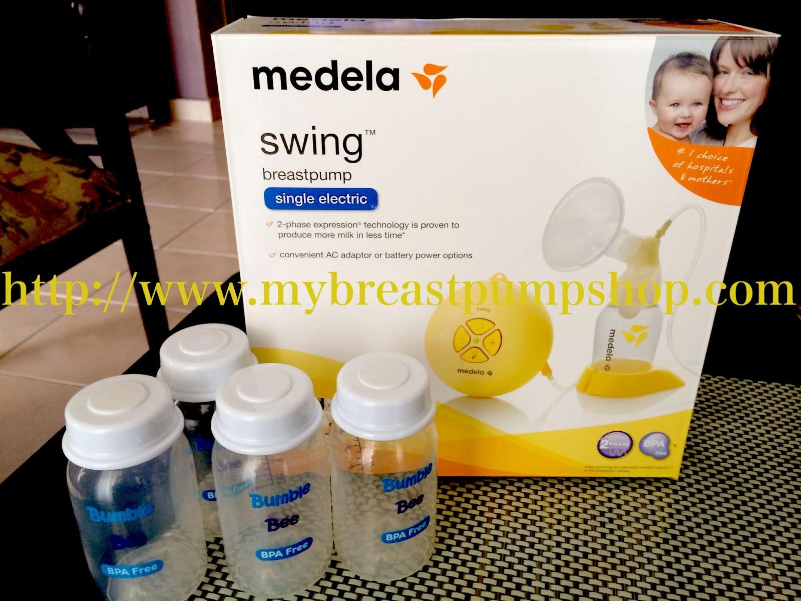 medela single manual breast pump
