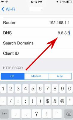 Trik membuka situs yang tidak dapat di akses di Smartphone