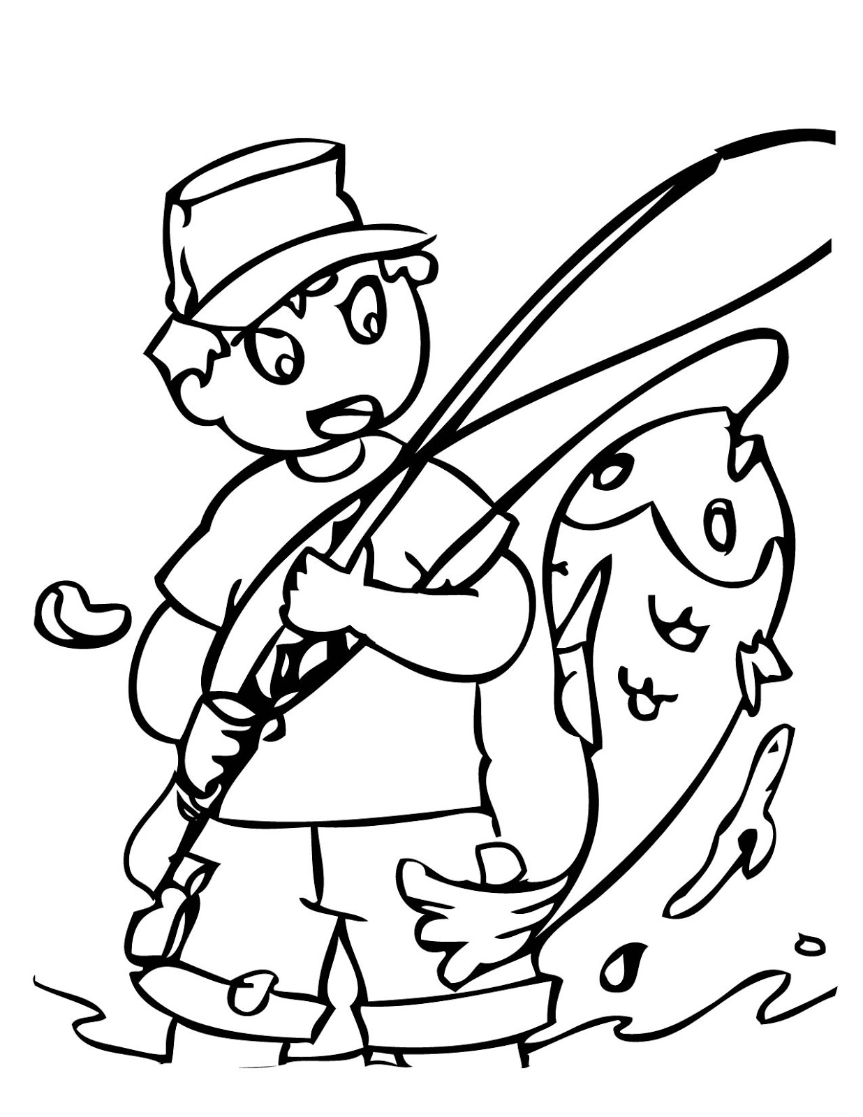 fish coloring pages for kids - photo#46