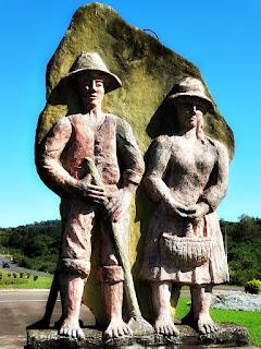 Monumento Alemão do Trevo da Kopp, em Vera Cruz (RS)