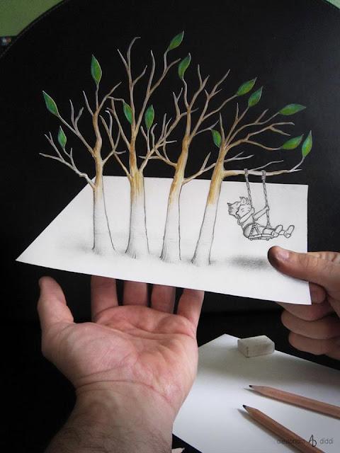 ilusi gambar 3d yang keren dan menakjubkan serta kreatif-5