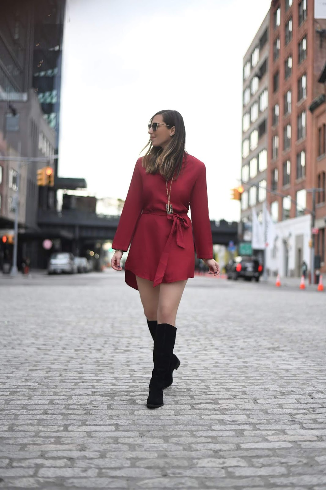 How to Style a Shirt Dress & Where to go in the Meatpacking District
