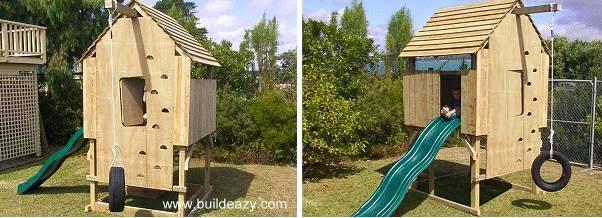Planos Casas De Jardin Para Ninos - Casas-infantiles-para-jardin