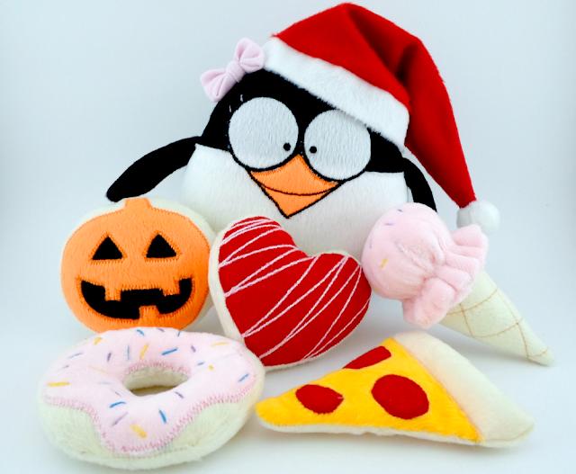 Para Frappy tu Amistad es el Mejor Regalo!!! Guyuminos pingüino de peluche
