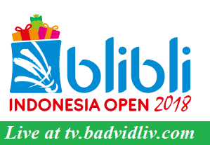 Blibli Indonesia Open 2018 live streaming