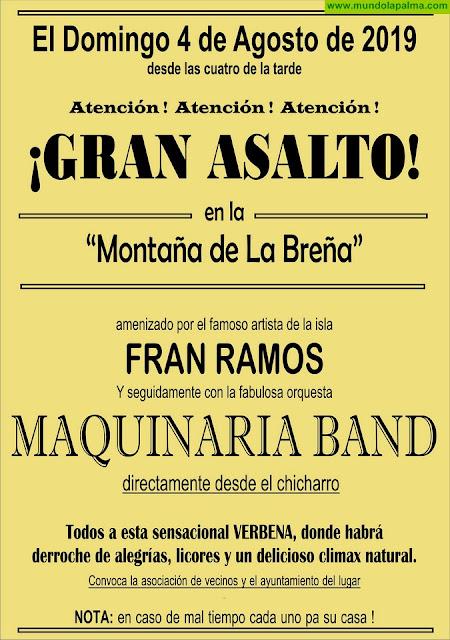 FIESTA DE LA MONTAÑA 2019: Maquinaria Band