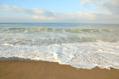 Santa Monica Beach Morning - Ocean Photography by Mademoiselle Mermaid