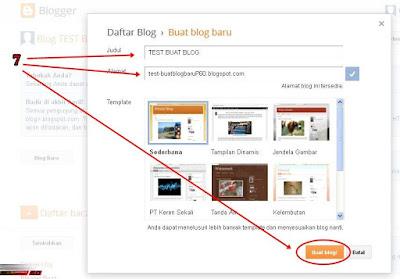 Cara Membuat Blog Secara Gratis di Blogger