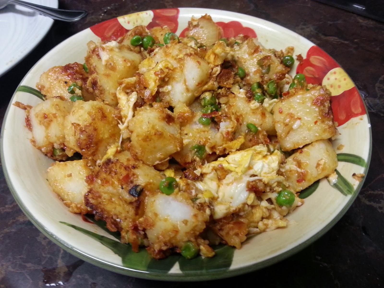 resepi nasi ketupat goreng