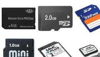 memori card ponsel