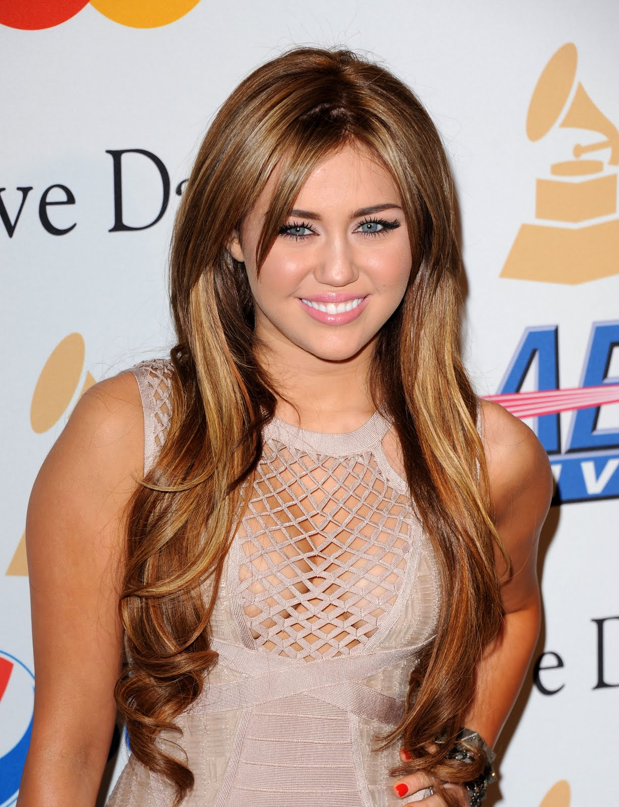 Miley Cyrus The 53rd Annual Grammy Awards Salute To Icons Honoring