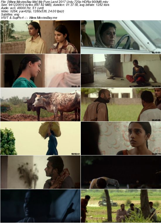 My Pure Land 2017 Urdu 720p HDRip 900MB