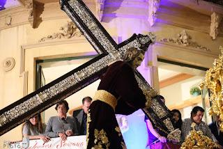 El Nazareno del Paso de Málaga pierde su noveno varal