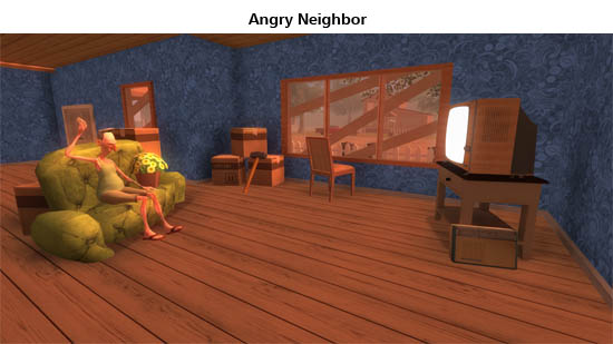 Download Angry Neighbor v2.0 Mod Apk FULL Android