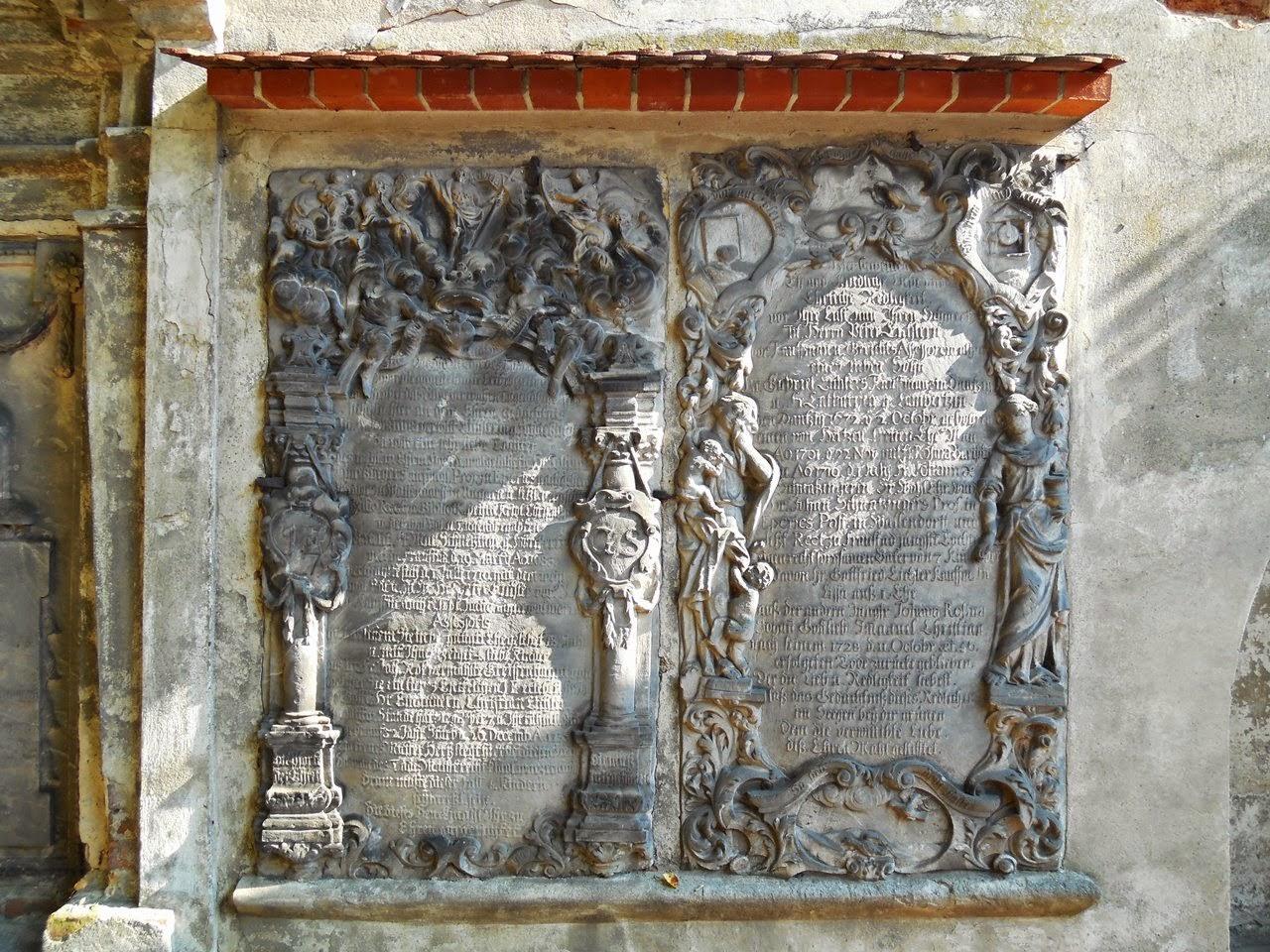 cmentarz ewangelicki we Wschhowie