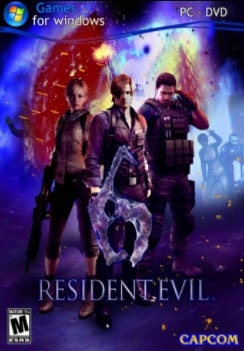 Resident Evil 6 PC Jogos Torrent Download capa