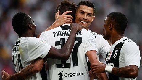 Danh sách các cầu thủ Juventus ở mùa giải 2018/19.