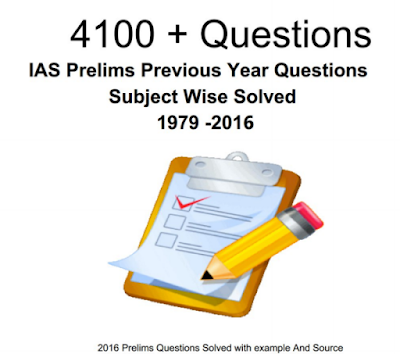 4100+ IAS Questions and Answers Prelims Previous Years 1979-2016