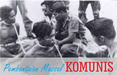 Pembantaian Massal Komunis tahun 1965