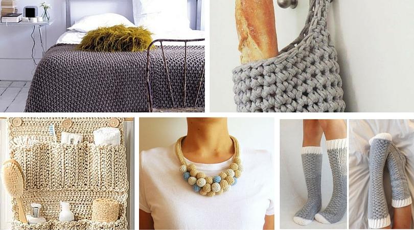 10 cosas que puedes hacer con crochet