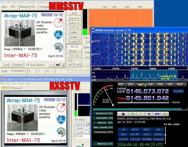 MMSSTV and  RXSSTV