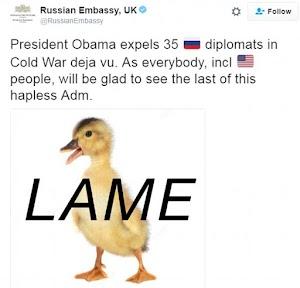 Russia  blasts US Govt, promises to retaliate in a huge way..Uk embassy Mocks US