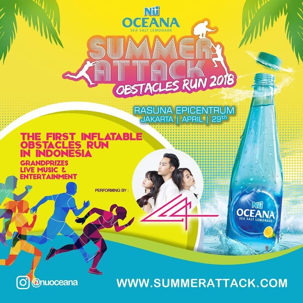 Nu Oceana Summer Attack • 2018