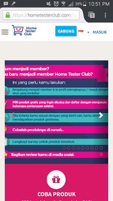 cara gabung dengan home tester club indonesia