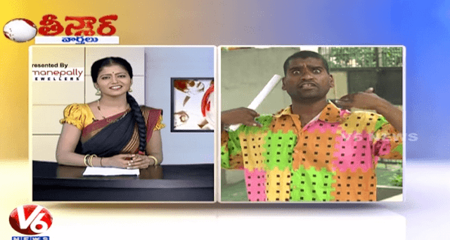 Watch Bithiri Sathi Funny Conversation On Adulterated Toddy Drink