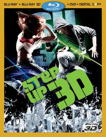 Poster Of Step Up 3D 2010 English 300MB BRRip 480p ESubs Free Download Watch Online