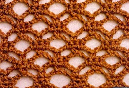 Patrón 918 Punto Calado a Crochet