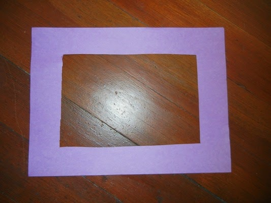 how to make paper picture frames | secondtofirst.com