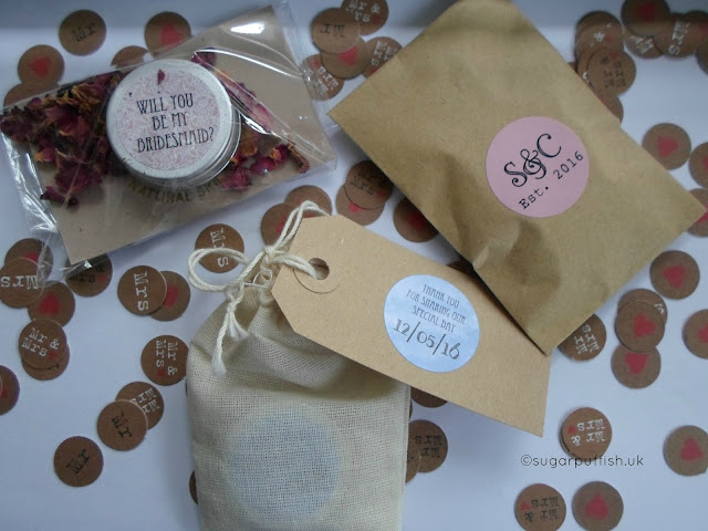 Natural and Organic Wedding Favours Sweet Cecily's lip balm