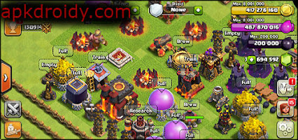 تنزيل clash of clans مهكرة