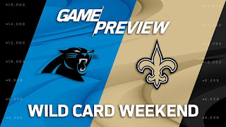 Panthers Saints NFL Playoffs Wild Card Simulation