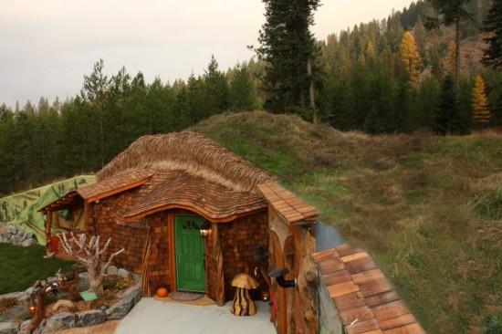 al jese en una casa de hobbit real por 245 la noche rinc n abstracto. Black Bedroom Furniture Sets. Home Design Ideas