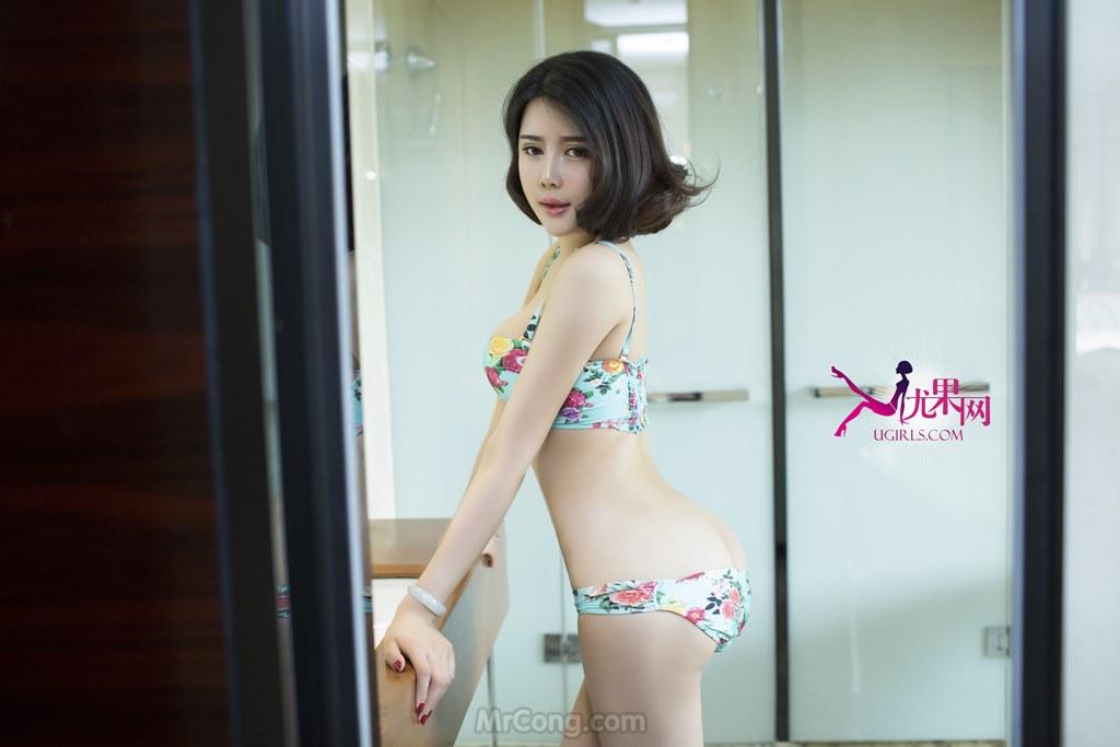 Ngắm vòng một căng tròn của Beauty You Zi Xi (游子熙) trong bộ ảnh UGIRLS 065