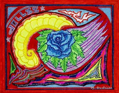 Abstact doodle drawing, Colorful Draws - Gambar Penuh Warna