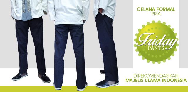 Celana Formal Pria Friday Pants