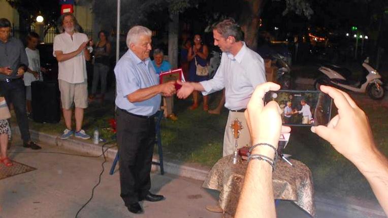Τον Θεόδωρο Ορδουμποζάνη τίμησε η ΕΠΟΦΕ στην 27η Έκθεση Βιβλίου Αλεξανδρούπολης