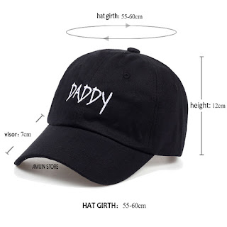d588c0988b9f1 2017 New DADDY Dad Hat Embroidered Baseball Cap Hat men summer Hip ...